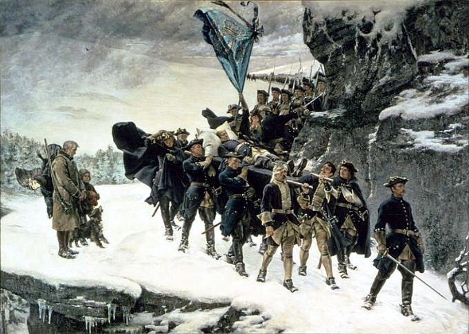 Karl XII:s död - Karl XII:s likfärd