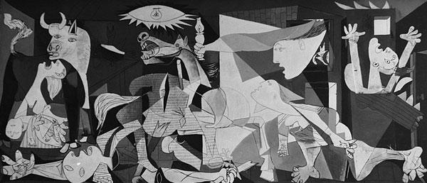 Spanska inbördeskriget – Picassos Guernica