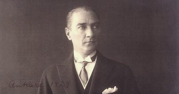 Atatürk, Ankara 1929