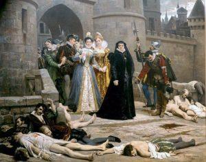 Katarina Medici - Massakern på St. Bartholomes dag