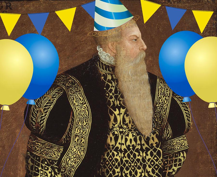 Gustav Vasa fyller år!