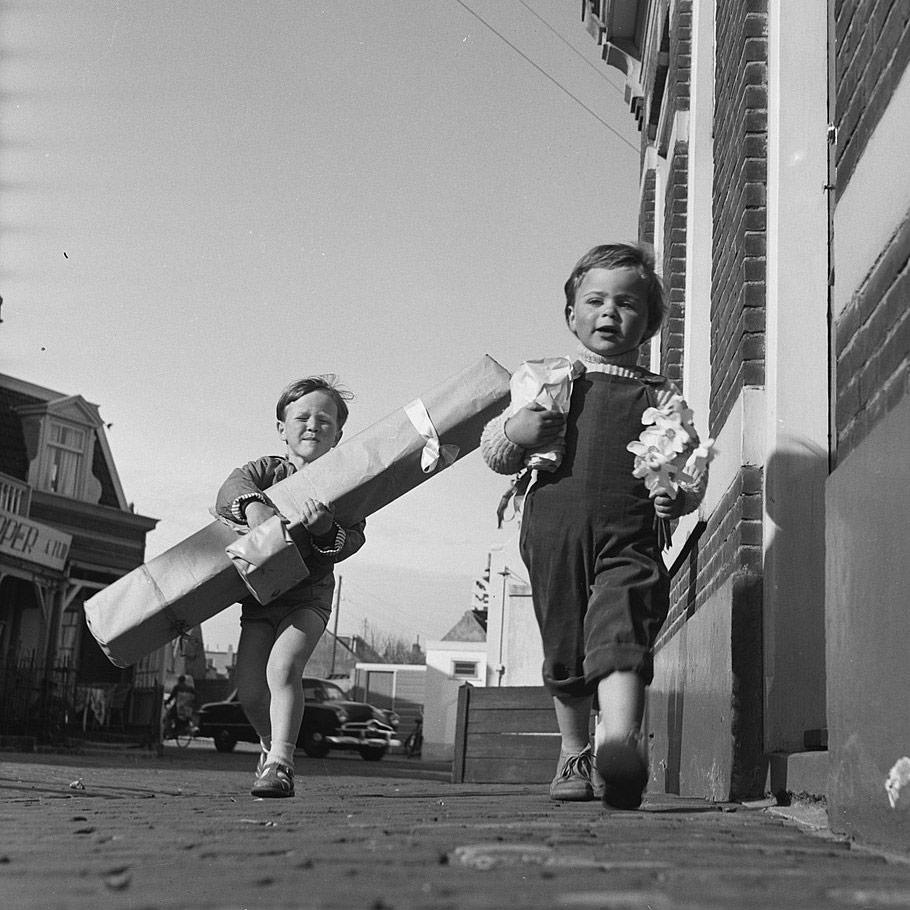 Mors dag - presenter till mor, 1956