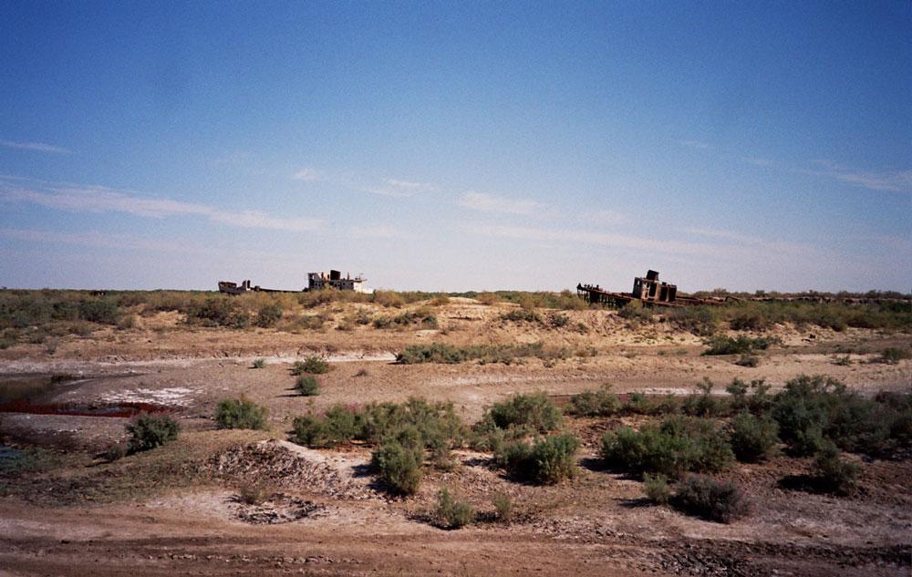 Aralsjön - skeppsvrak