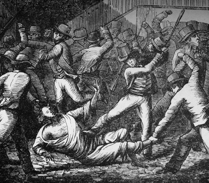 Axel von Fersen lynchas till döds av en folkmassa 1810
