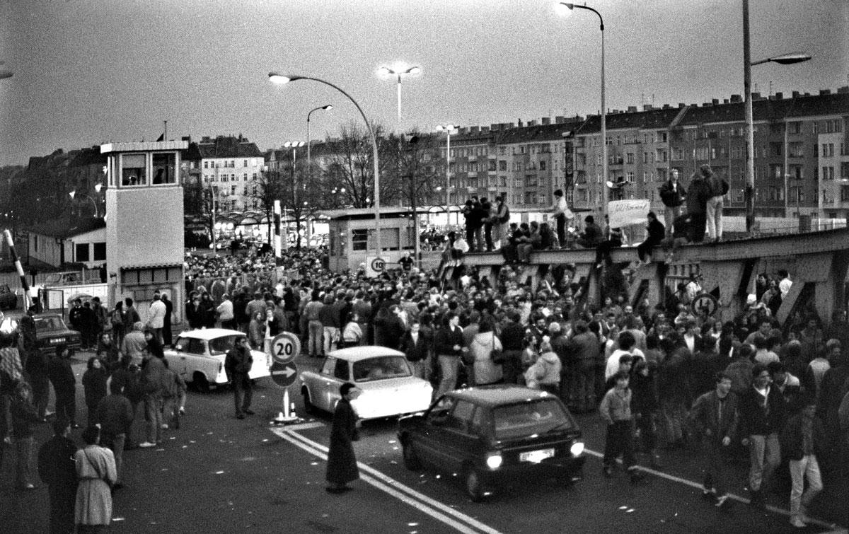 Berlinmuren 10 nov 1989