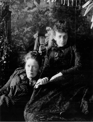 Selma Lagerlöf och Sophie Elkan
