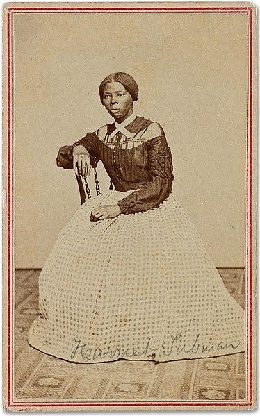 Harriet Tubman - träsnitt