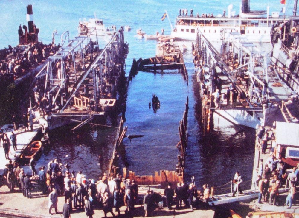 Vasaskeppet, 1961