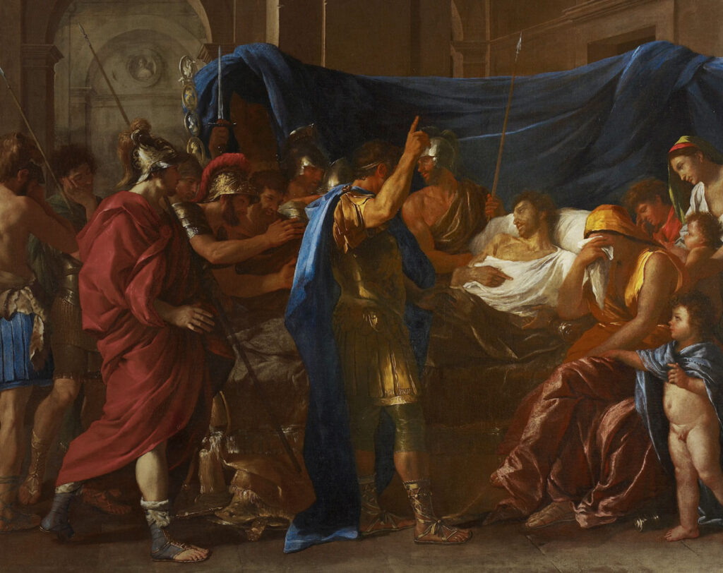 """Nicolas Poussin: """"The Death of Germanicus"""""""