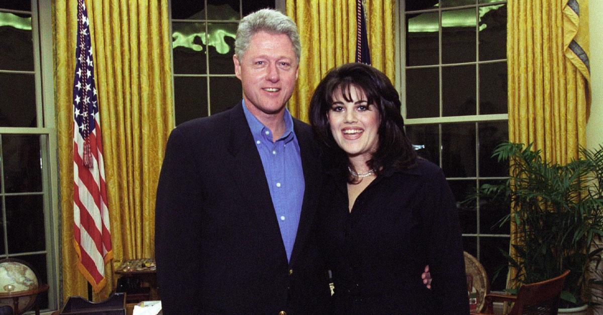 Monica Lewinsky och Bill Clinton