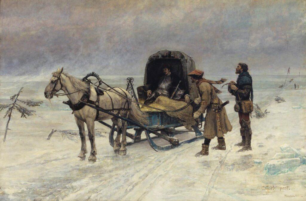 Sten Sture d y:s död på Mälarens is