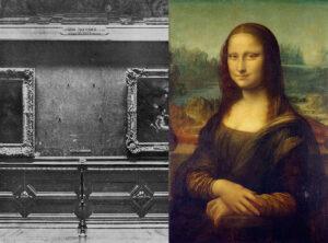 Mona Lisa stulen