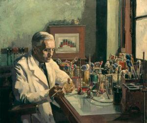 Alexander Fleming, upptäckaren av Penicillin