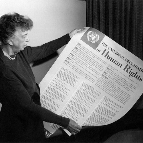 Eleanor Roosevelt och FN:s deklaration för mänskliga rättigheter