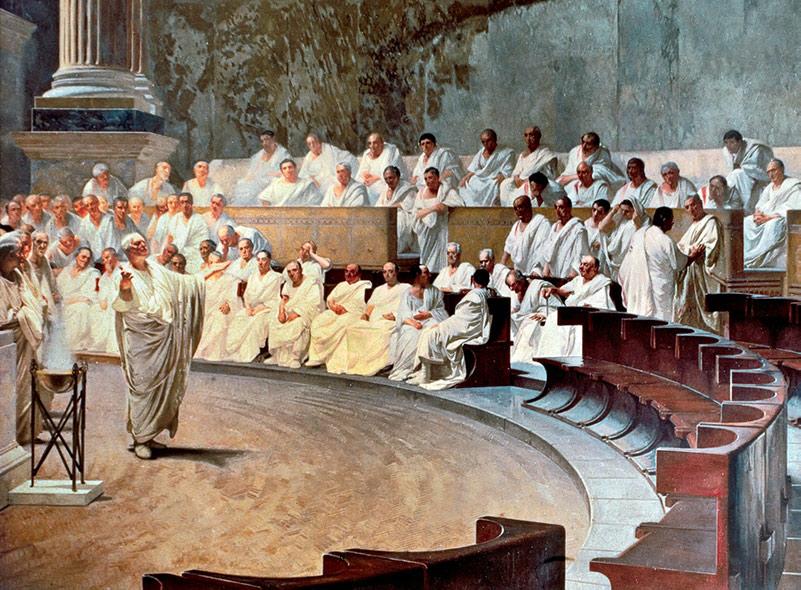 Cicero i senaten