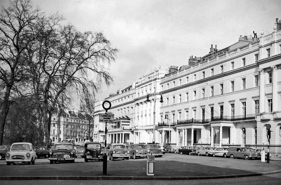 Hjärtat av Belgravia: Belgrave Square. Foto: Ben Brooksbank