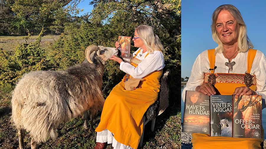 Hallå där Agneta Arnesson Westerdahl! Aktuell med boken Offergudar