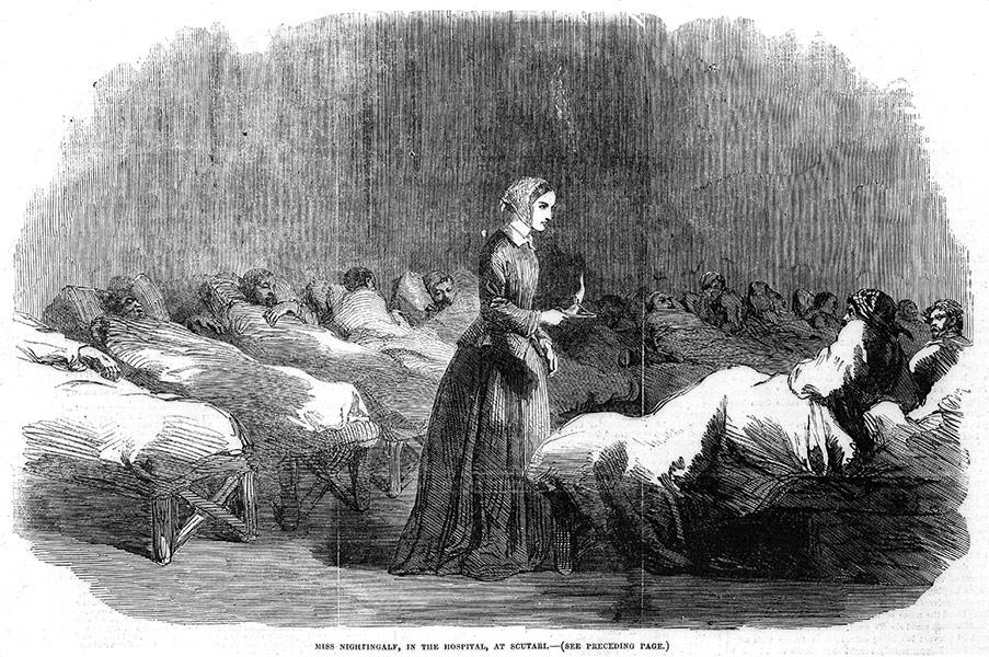Florence Nightingale, Illustrated London News, 24 februari 1855
