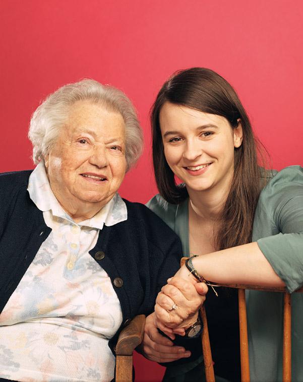 Gertrude Pressburger och Marlene Groihofer