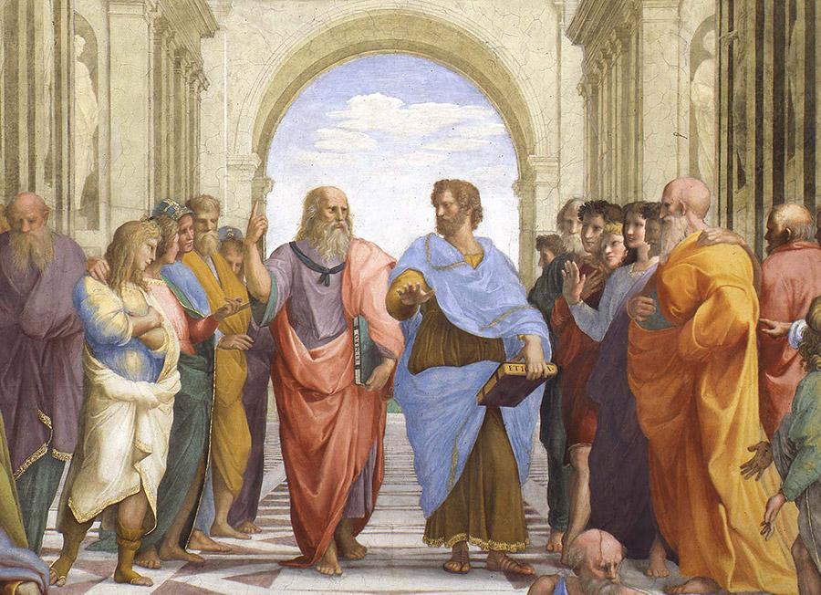 Platonoch Aristoteles i Skolan i Aten