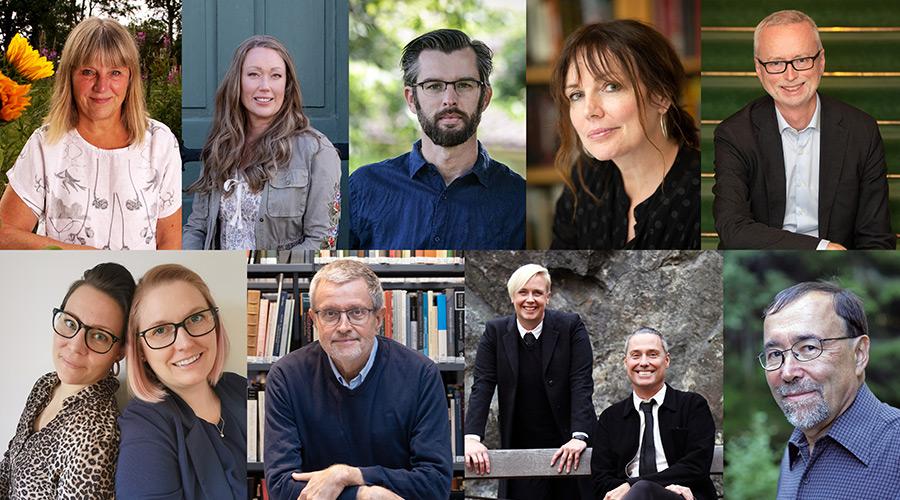 Bokmässan 2021 - Historiska Medias medverkande författare