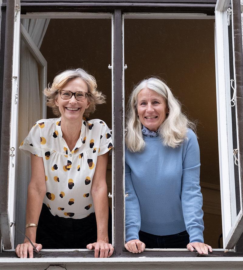 Christina Haugen och Lena Amurén